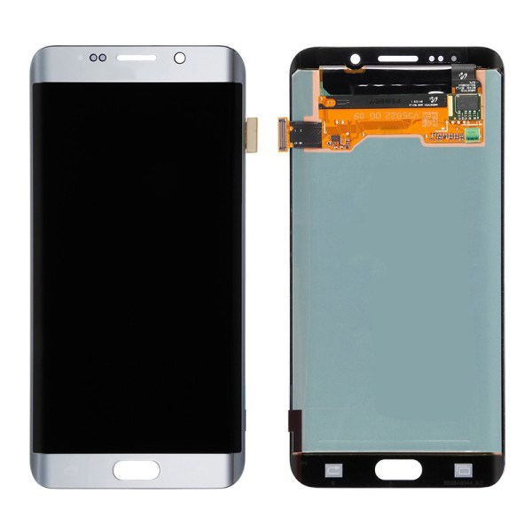 LCD Screen Replacement without frame for Samsung Galaxy S6 Edge Plus - Silver