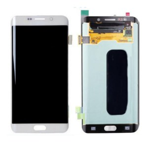 LCD Screen Replacement without frame for Samsung Galaxy S6 Edge Plus - White