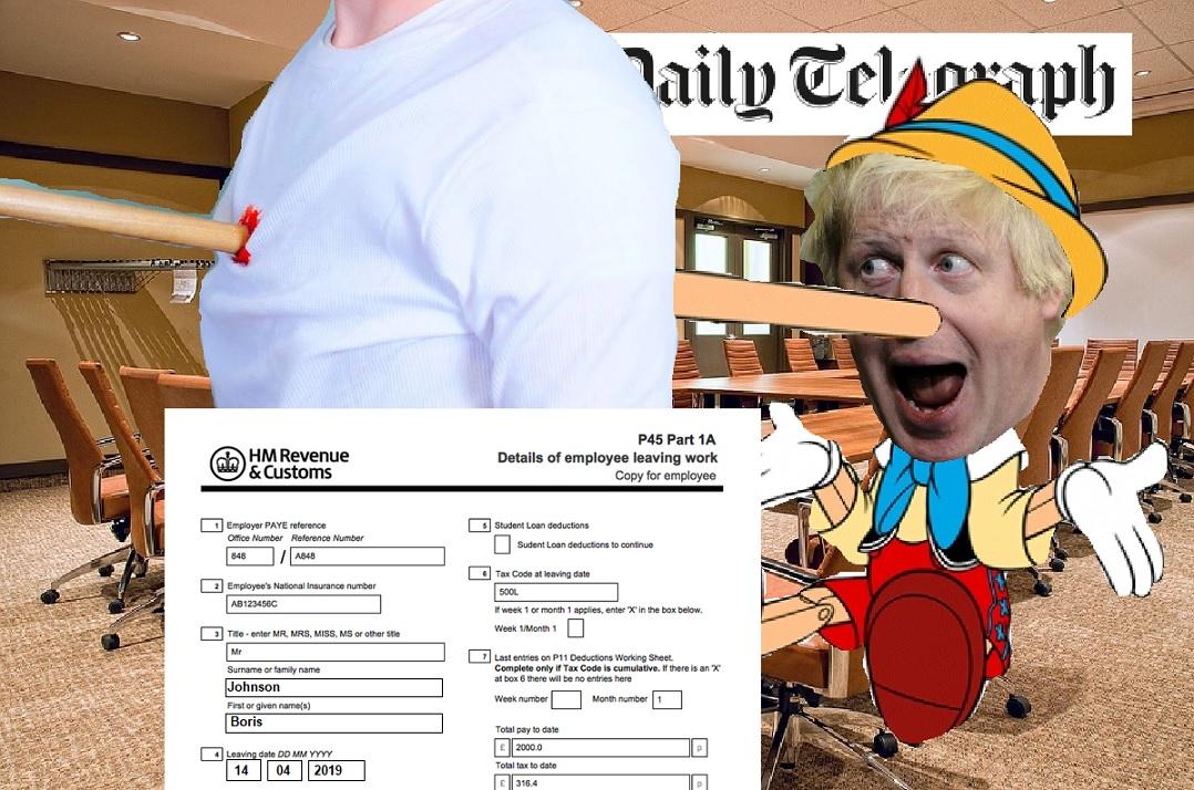 Boris Pinocchio collage - LCD Views