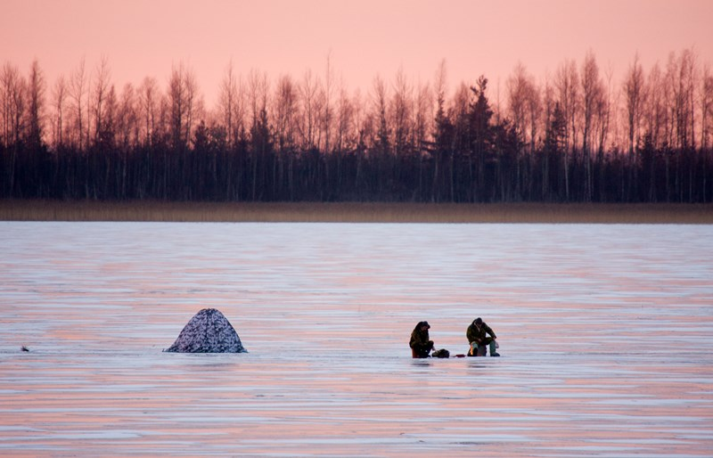 Ice Fishing Ice Fishing Photo Galleries Lake County