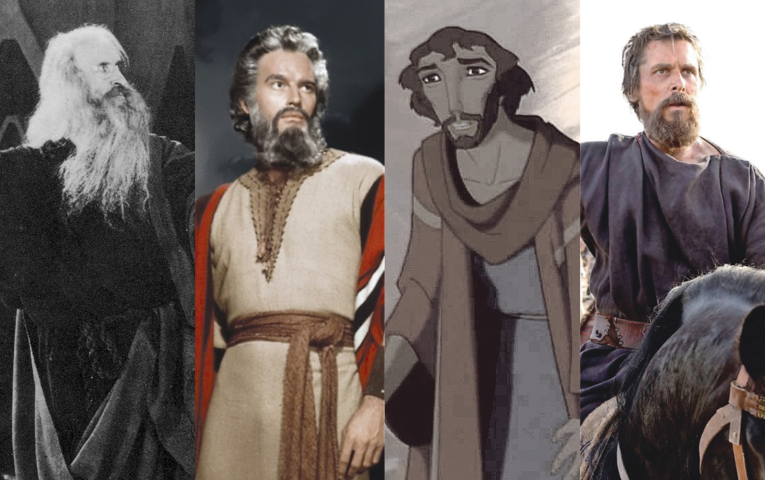 Nine Decades Of Moses At The Movies