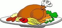 turkey dinner graphic