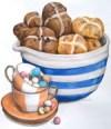 Easter brunch graphic