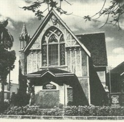 The original church on Beretania.