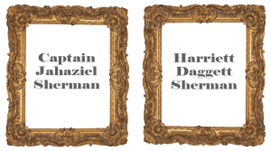 Image of empty picture frames
