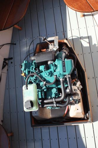 Regret Volvo 12 HP Engine