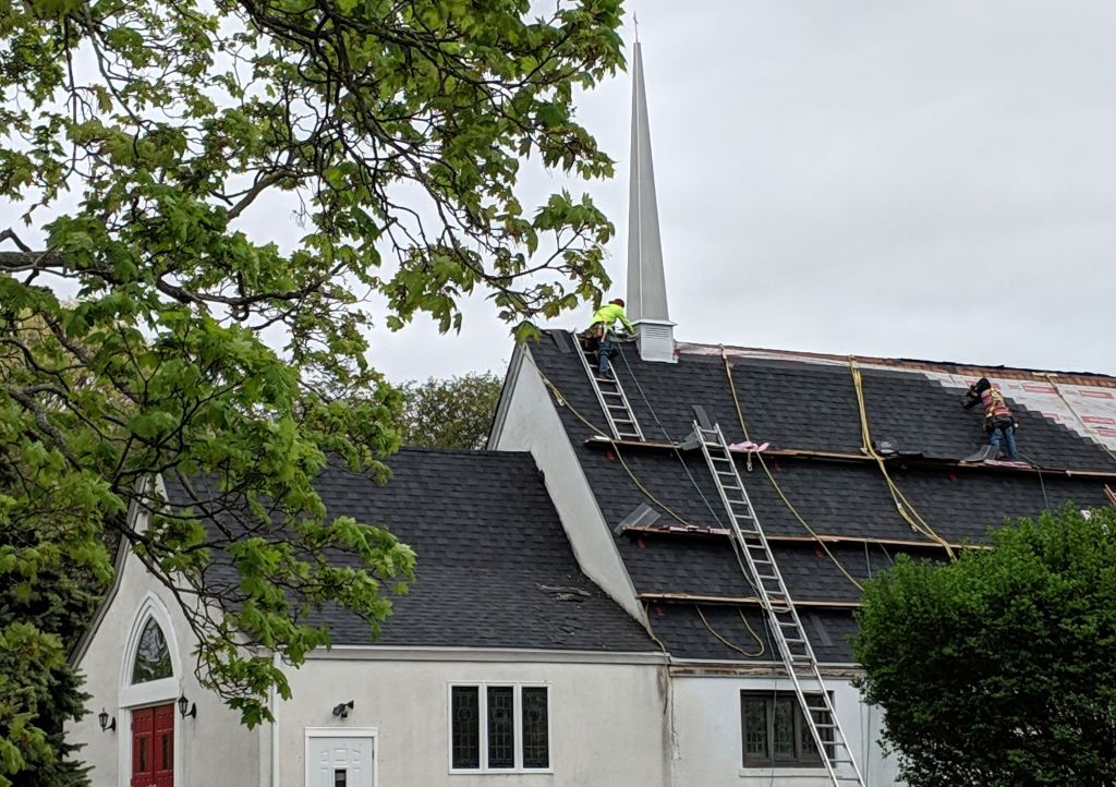 Roofing the sanctuary