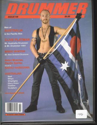 Leather Pride Flag - Australian Version