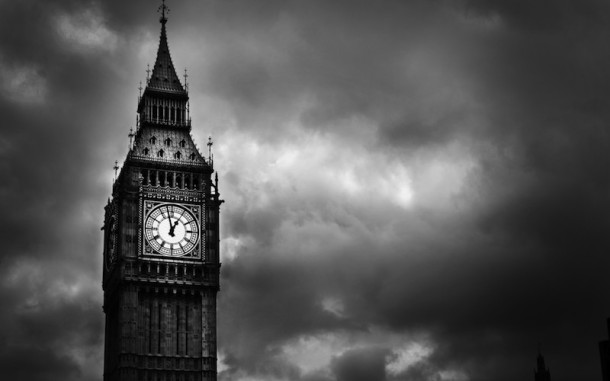 big-ben-london-black-white