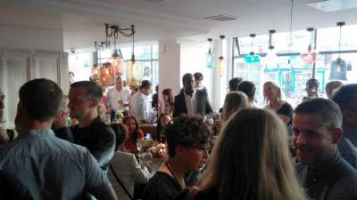 LDN Life attends the Launch of T.E.D- Think. Eat. Drink. 10