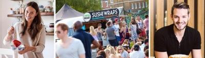 Foodies Festival Celebrates 10th Anniversary at Clapham Common, July 24,25,26 15