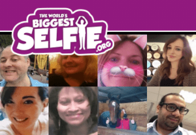 "LDN Life - Supporting ""The Worlds Biggest Selfie"" 20"