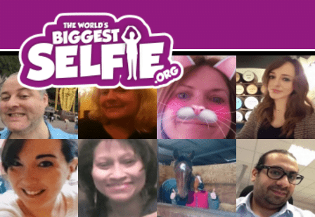 """LDN Life - Supporting """"The Worlds Biggest Selfie"""" 6"""