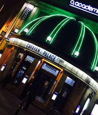 Outside Brixton Academy Caravan Palace