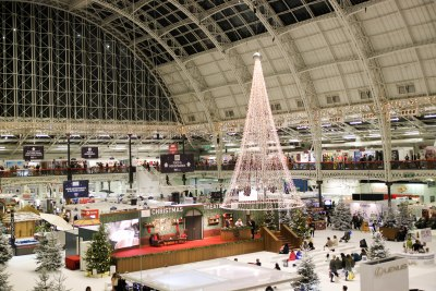 Ideal Home Show at Christmas After Dark Review 11