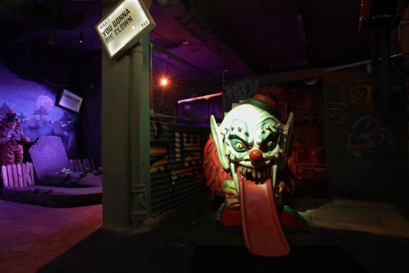The Fear Ground Comes To Junkyard Golf Club For International Clown Week