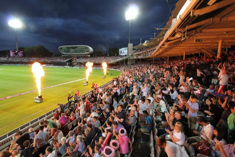 Middlesex vs Surrey T20 Blast, Lord's Cricket Ground, 13th July 2017 11