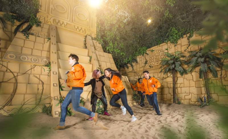 Have you conquered The Crystal Maze yet? 6