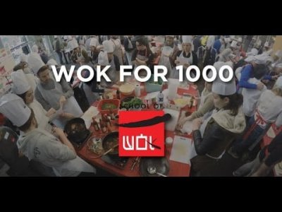 #Wokfor1000 will attempt to cook 1000+ meals in one day in Borough Market 10