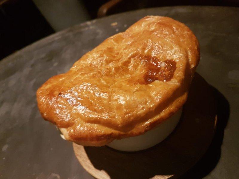 No 17 Dickens Yard pie