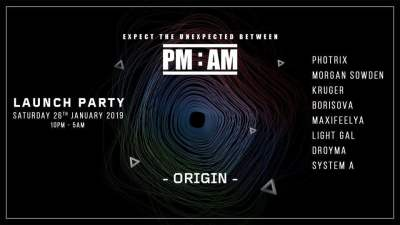 Expect the unexpected between PM and AM - Launch Party 17