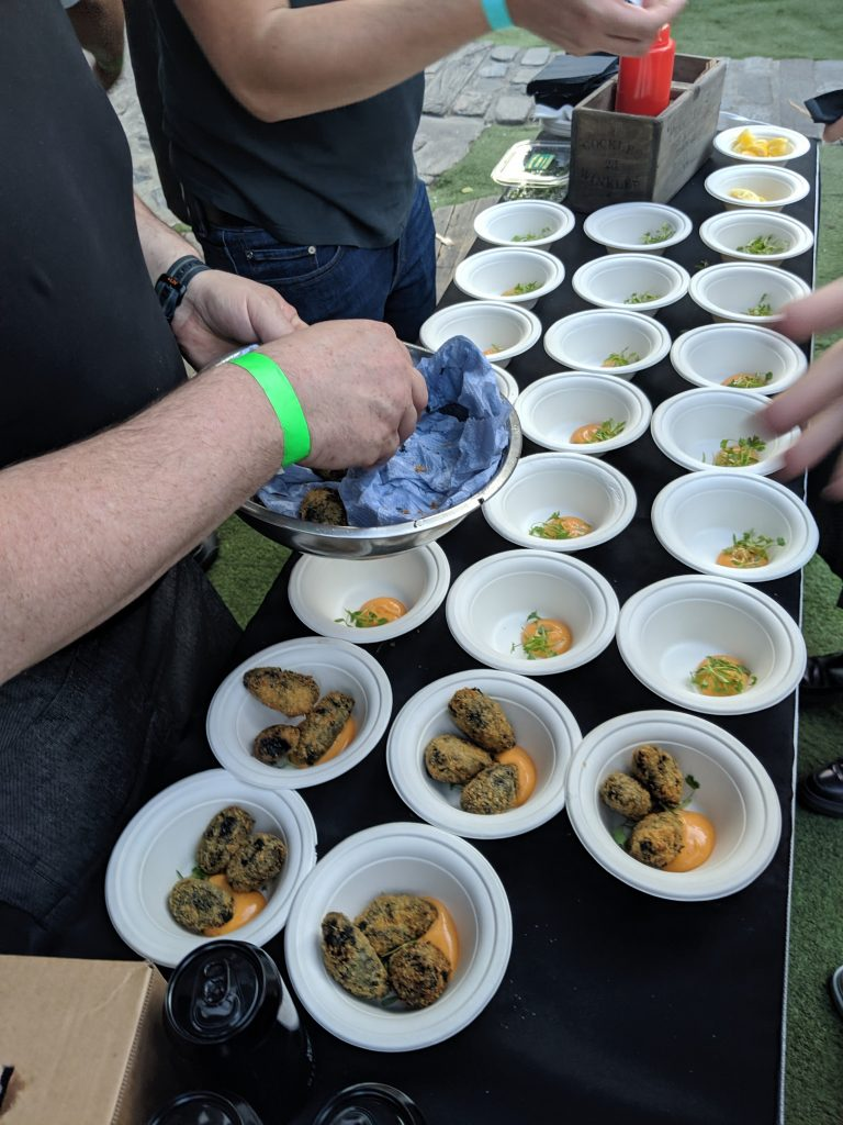 Meat vs Fish vs Veg annual charity chef contest review (hint it was delicious) 45