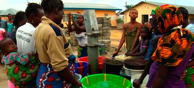 Great article and movie on a village getting clean water