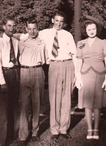 Thomas S. Monson with Friends