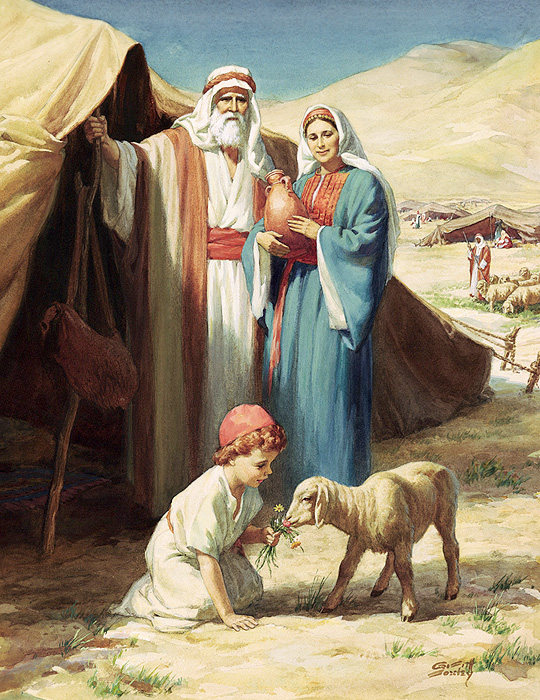 abraham and family # 7