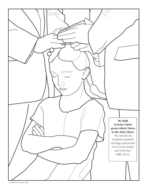 holy spirit coloring pages # 11