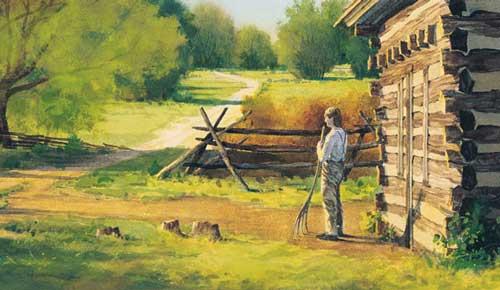 Joseph Smith Jr. family cabin