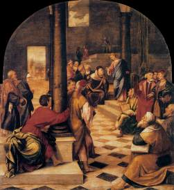 Bonifacio de Pitati - Christ among the Doctors