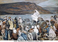 Jesus Teaching by the Seashore, by James Tissot
