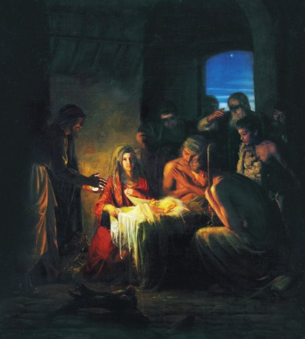 The Birth of Jesus, by Carl Heinrich Bloch
