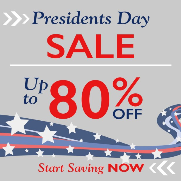 LDS Presidents Day Sale