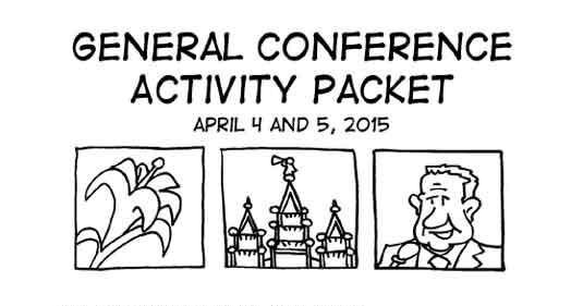 2015 LDS General Conference Packet