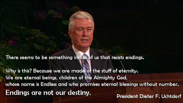 Endings Are Not Our Destiny