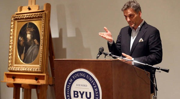 New Carl Bloch Painting of Christ Acquired, Unveiled at BYU