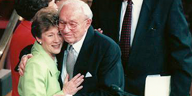 President Hinckley's Daughter Remembers Family Proclamation
