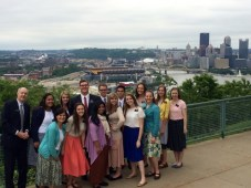 At the Overlook in Pittsburgh