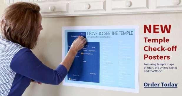 LDS Temple Maps