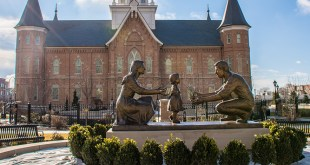The Must Read Story About The Statue In Front Of The Provo City Center Temple