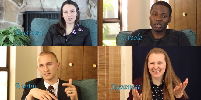 This Amazing Video Shows Returned LDS Missionaries Speaking Over 50 Languages
