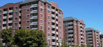 Brigham Apartments in Salt Lake City.