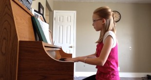 """This LDS Teen Plays """"Come Thou Fount of Every Blessing"""" Beautifully!"""