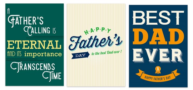Father's Day Gifts - Free Cards