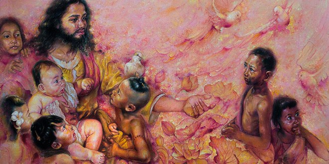 Stunning Piece from Cambodian Artist Featured in 10th International LDS Art Competition