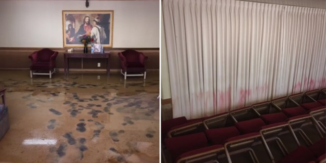 Video Shows Heartbreaking Damage to LDS Louisiana Stake Center