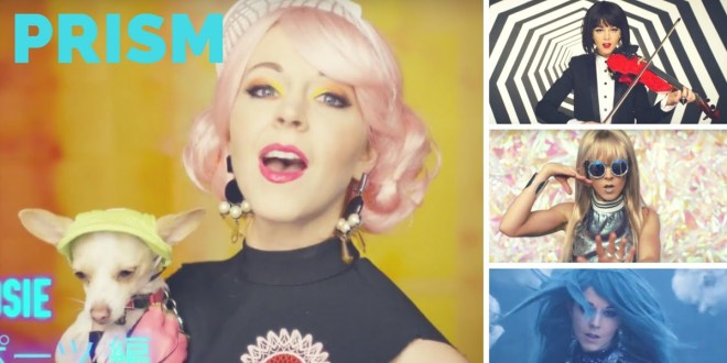 "Lindsey Stirling's New Music Video ""Prism"" is a Bright Spectacle"