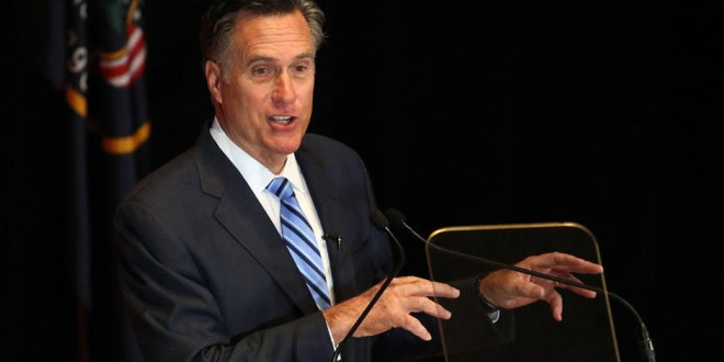 Some Reports Suggest Mitt Romney May Be Considered for Secretary of State by Trump
